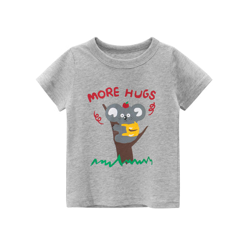 1-9Y New Baby Boys T-shirt  Pure Cotton Boys Top Summer Children Clothing Toddler Fashion Girl Tee Shirt Cute Mouse Play Clothes