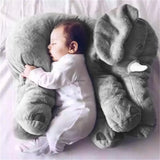 OUTAD Fashion 33*40cm Elephant Soft Baby Pillow Baby Sleep Bed Car Seat Cushion Kids Portable Bedroom Bedding Stuffed Pillows