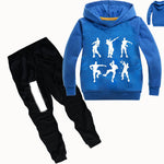 Z&Y 2-16Years 2019 Fall Fashion Kids Autumn Clothes Ninjago Party Hoodies Pants Boys Clothes Set Girls Outfit Kids Tracksuit