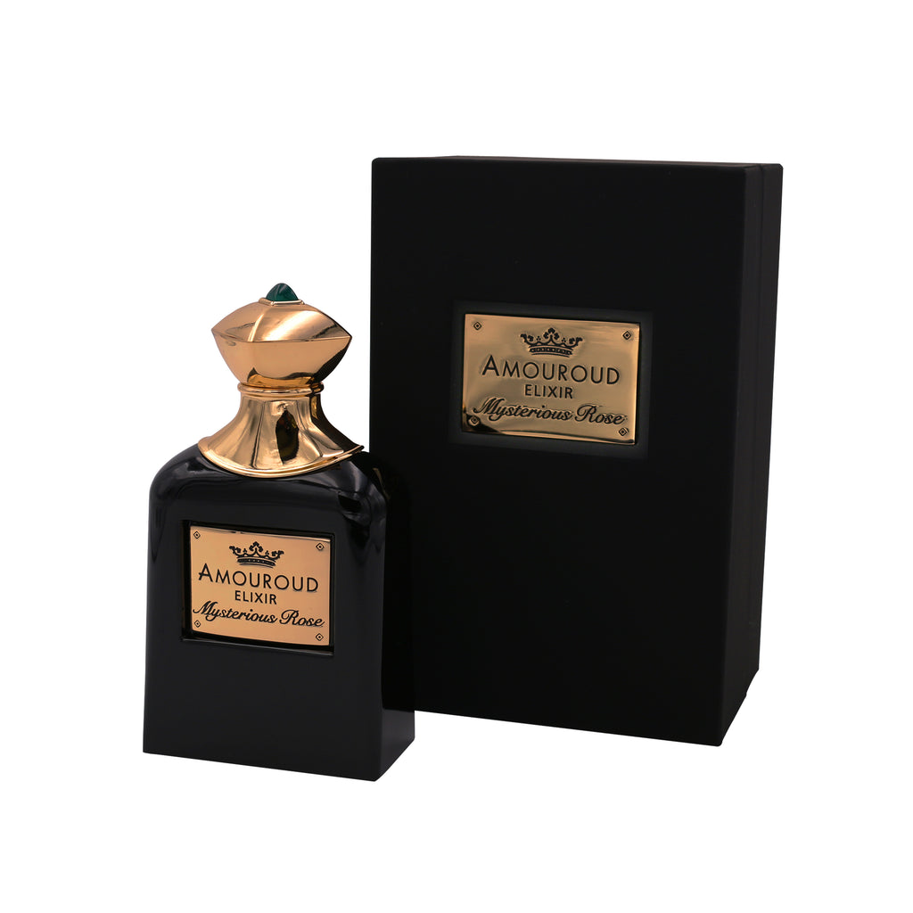 Amouroud Mysterious Rose Fragrance Bottle with Packaging