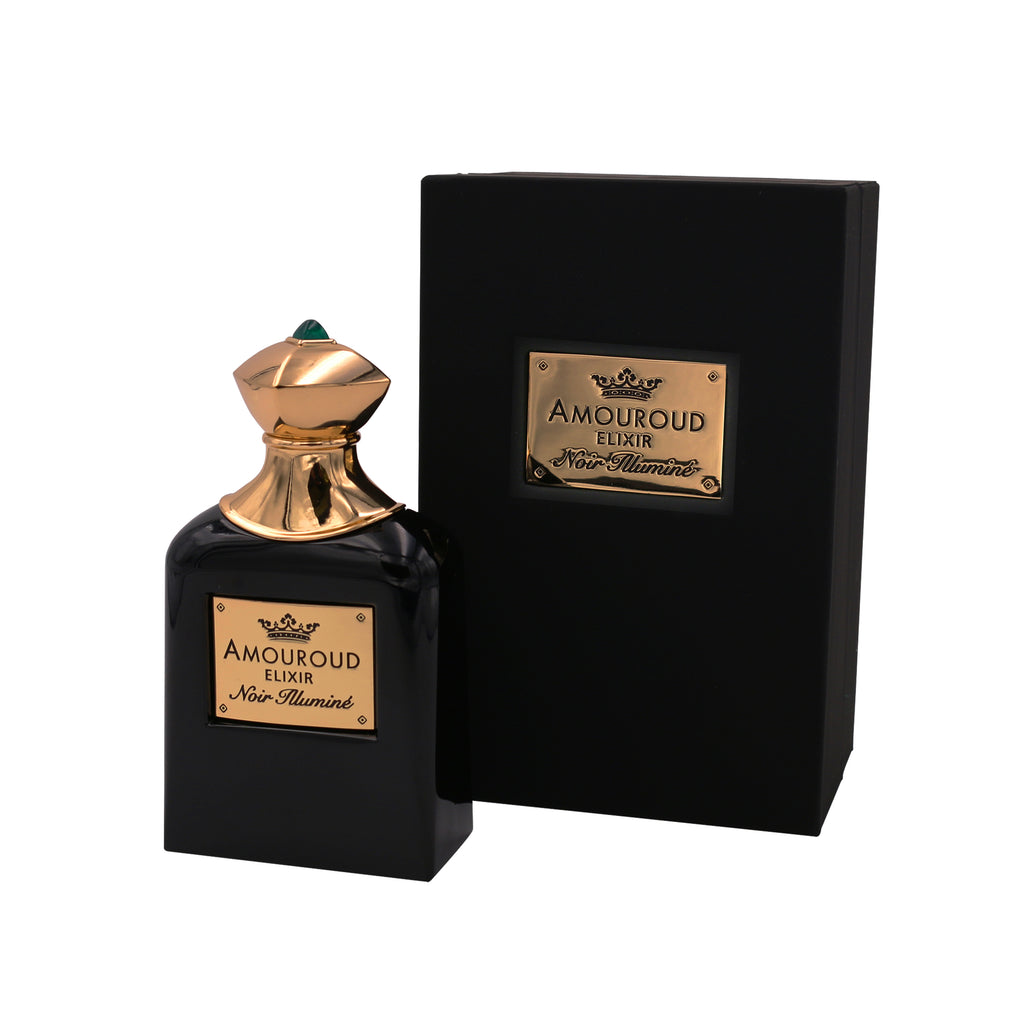 Amouroud Noir Illuminé Fragrance Bottle with Packaging
