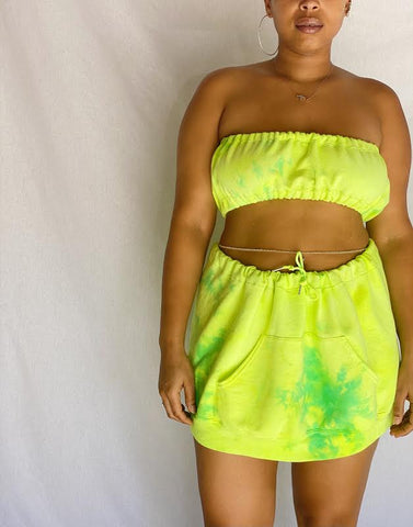 Two Piece Sweat Skirt