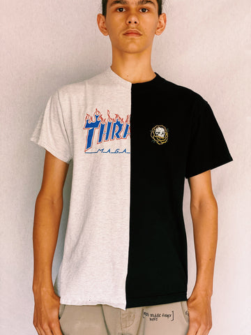 Split Thrasher Tee - shirts - Freak-i$h