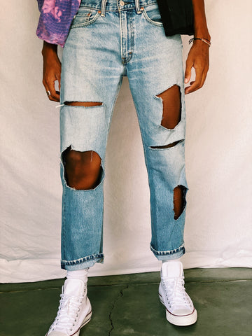 Basic Holy Jeans - pants - Freak-i$h