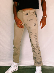 Mens Sketchy Pants - pants - Freak-i$h