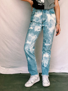 Basic Bleached Jeans - pants - Freak-i$h