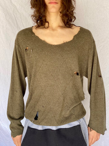 Ultimate Distressed Sweater - shirts - Freak-i$h