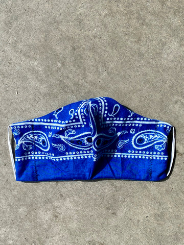 Reworked Blue Bandana Mask - mask - Freak-i$h
