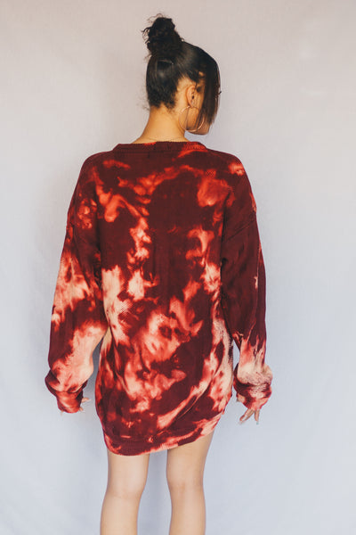 Fire Sweater Dress