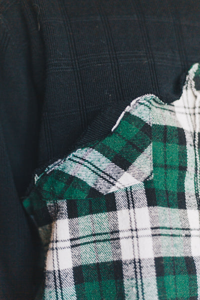 Flannel Sweater
