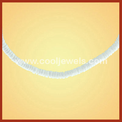 Wholesale White Clam Shell Anklet