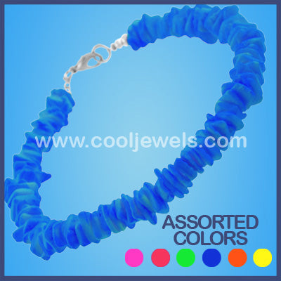 Assorted Color Neon Shell Bracelets