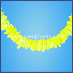 Assorted Colored Neon Shell Necklaces