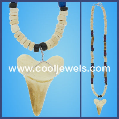 Replica Shark Tooth Shell Necklaces