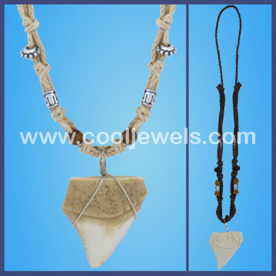 Wholesale Great White Shark Tooth Necklaces