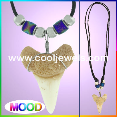 Mood Shark Tooth Necklace