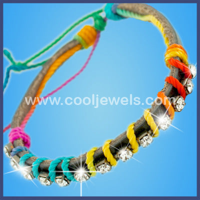 Multicolor Bracelet With Rhinestones