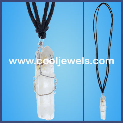 Crystal Cord Necklace