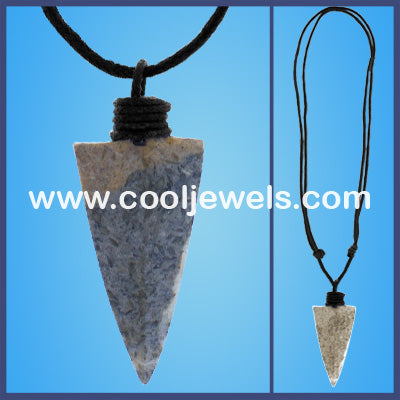 Arrow Cord Necklaces