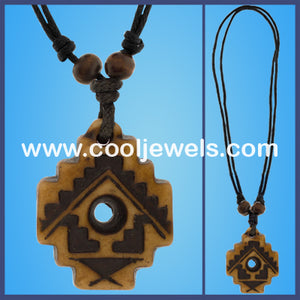 Resin Tribal Necklaces