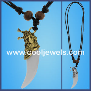 Wolf Tooth Necklaces