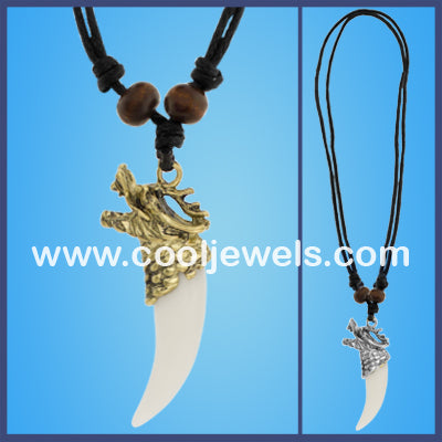 Dragon Tooth Necklaces