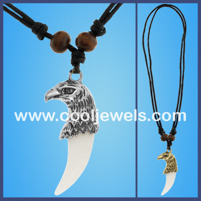 Eagle Head Tooth Necklaces