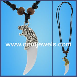 Tiger Tooth Necklaces