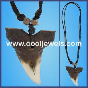 Fake Shark Tooth Necklaces