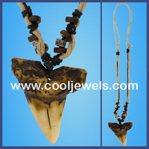 Resin Tooth Necklace