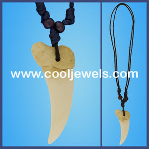 Replica Alligator Tooth Necklaces