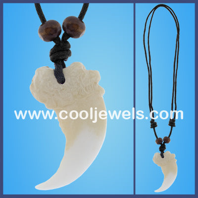 Resin Claw Necklaces