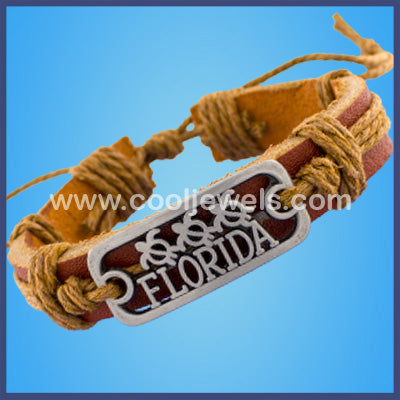 Florida Leather Bracelets