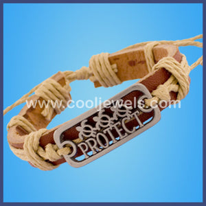 Protect Leather Bracelets