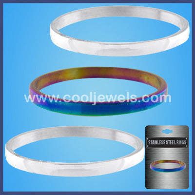 Assorted Stainless Steel Rings