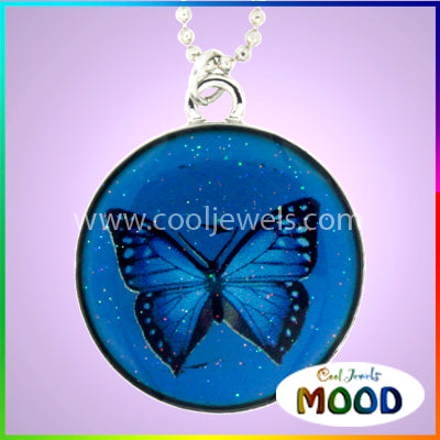 Wholesale Butterfly Mood Necklace
