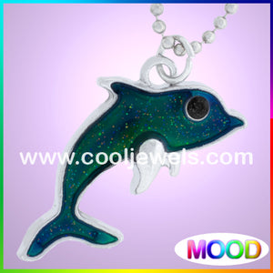 Mood Dolphin Necklaces