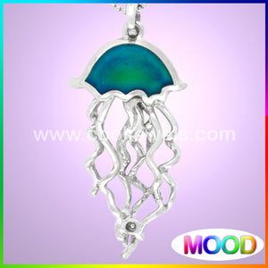 Mood Jelly Fish Necklaces