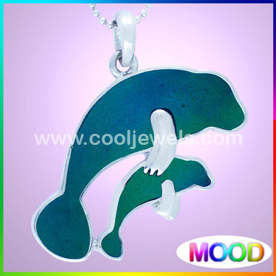 Mood Manatee Necklaces