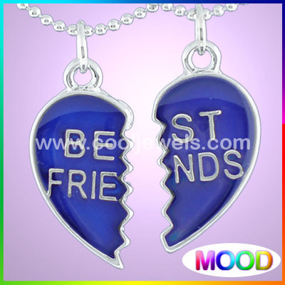 Mood Best Friends Broken Heart Necklace
