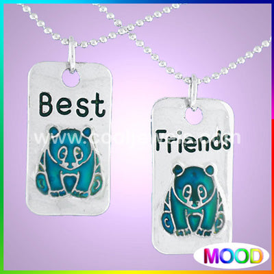 Mood Panda Best Friends Necklace