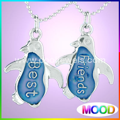Mood Penguin Best Friends Necklace
