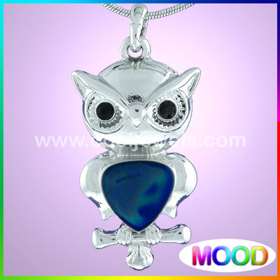 Mood Owl Necklace
