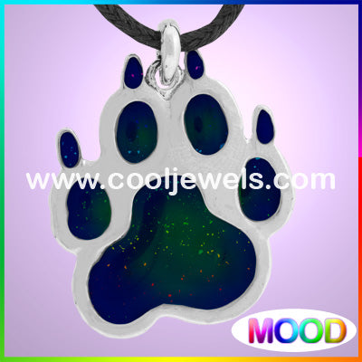 Mood Bear Paw Necklaces