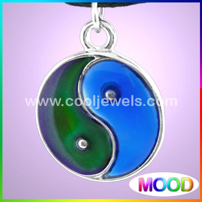Wholesale Ying Yang Mood Necklaces