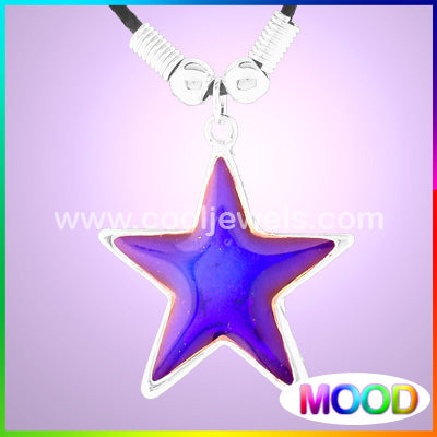 Mood Star Necklaces