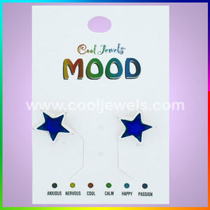 Mood Star Earrings