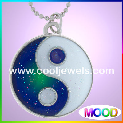 Yin Yang Mood Necklaces