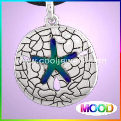 Mood Starfish Cord Necklace