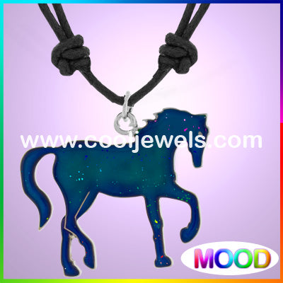 Mood Horse Necklaces